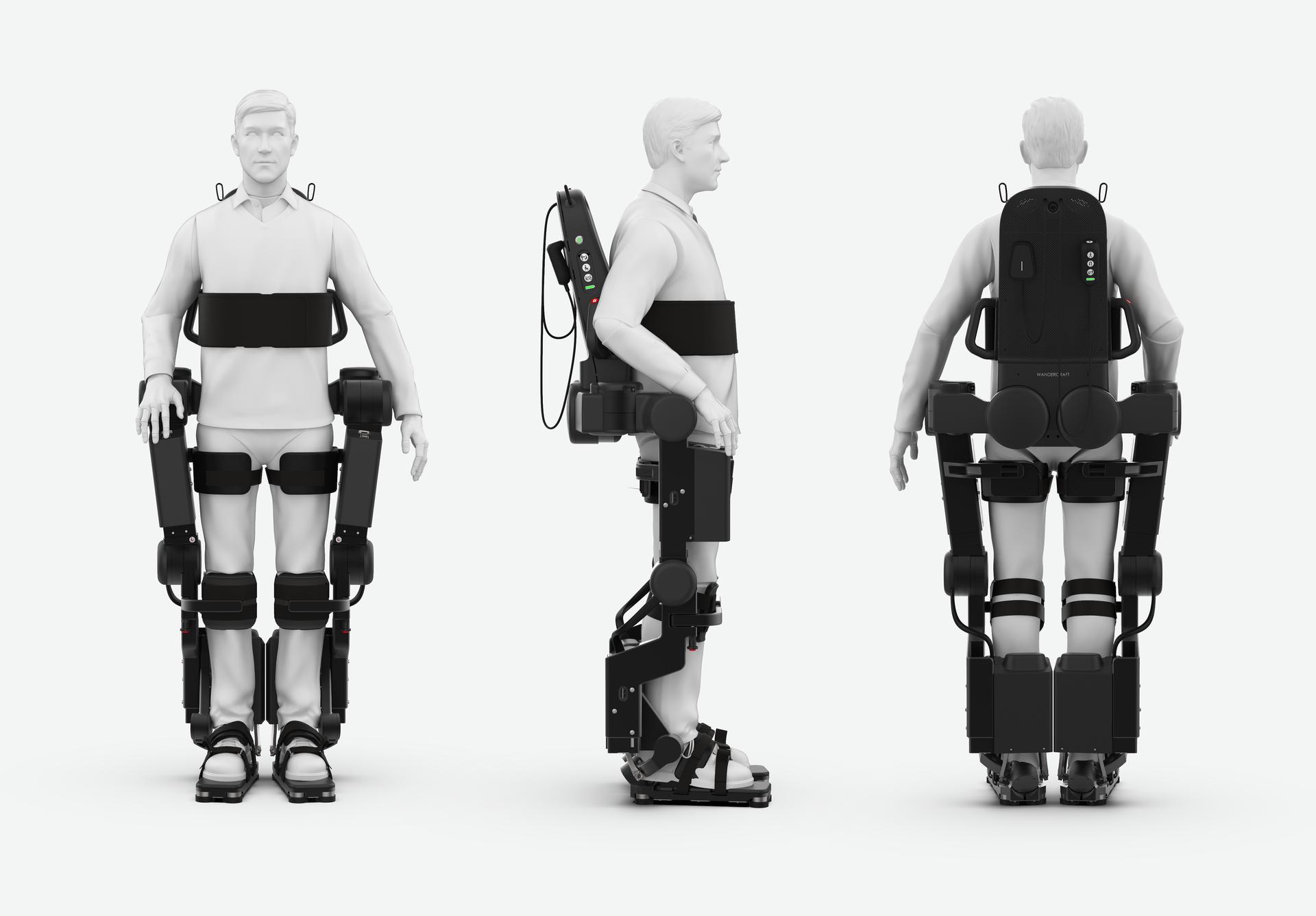 Cha chế tạo khung xương robot, giúp con trai bị liệt có thể đi lại được - 1