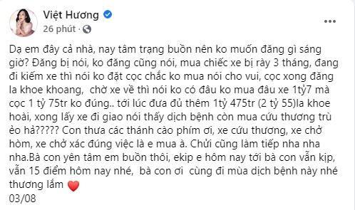 Tặng xe cứu thương bạc tỷ, Việt Hương ngớ người khi bị nói tâm ác-3