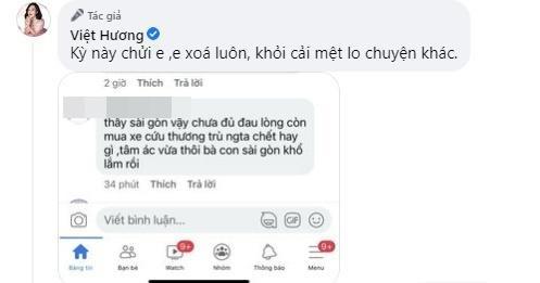 Tặng xe cứu thương bạc tỷ, Việt Hương ngớ người khi bị nói tâm ác-4