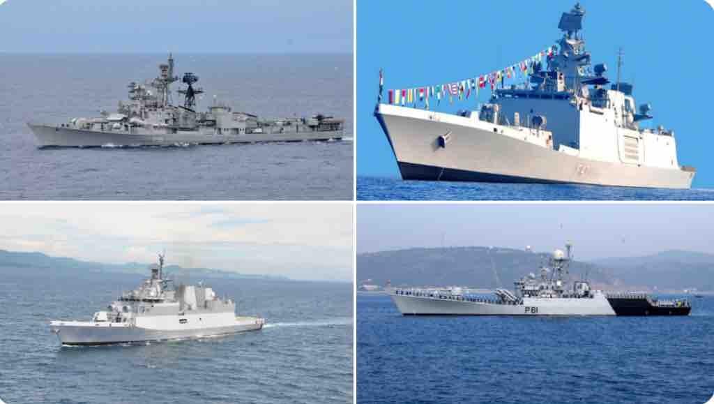 Ấn Độ cử nhóm tác chiến hải quân đến Biển Đông
