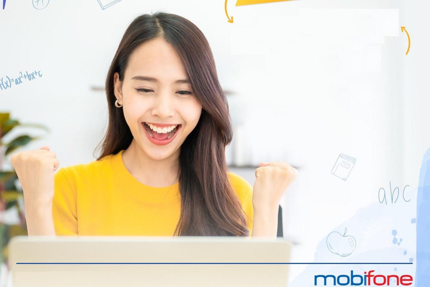 Hướng dẫn đăng ký 4G MobiFone 1 năm, 2 GB/ngày
