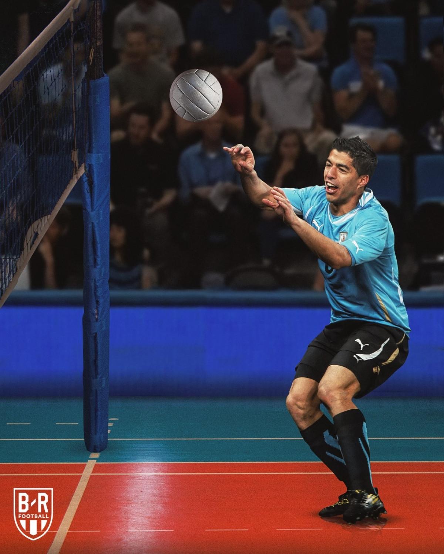 Quái kiệt bóng chuyền Luis Suarez.