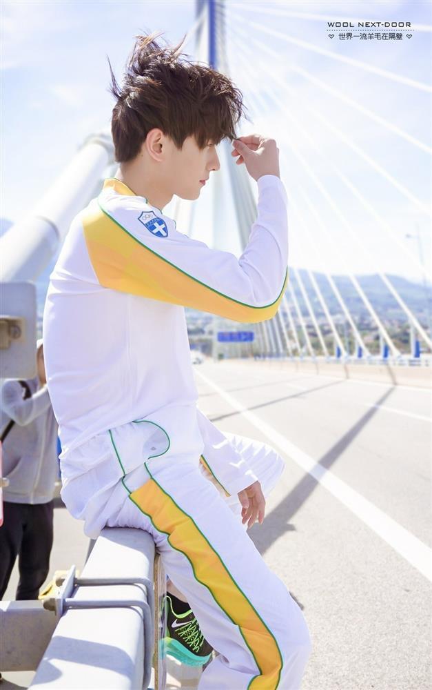 Bộ ảnh rước đuốc Olympic của Dương Dương bỗng dưng hot trở lại-5
