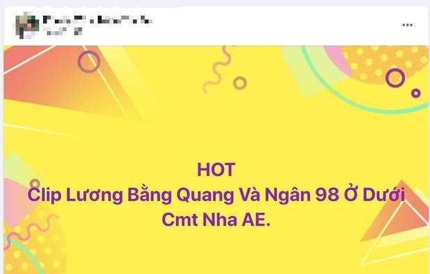 Rầm rộ clip mây mưa 1p57s của Lương Bằng Quang - Ngân 98, thực hư ra sao?-4