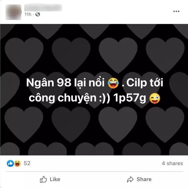Ngân 98 phân trần clip nóng với bạn trai, càng nghe càng rối não-1