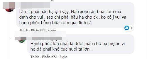 Lê Dương Bảo Lâm bị chỉ trích khi để vợ cơm bưng nước rót-6