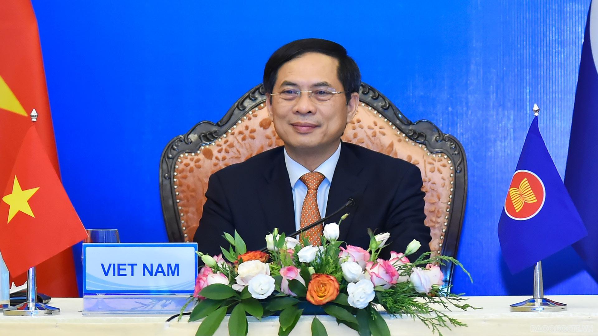 ASEAN-Ấn Độ đoàn kết và tương trợ lẫn nhau trong ứng phó Covid-19, phối hợp thúc đẩy tự cường chuỗi cung ứng