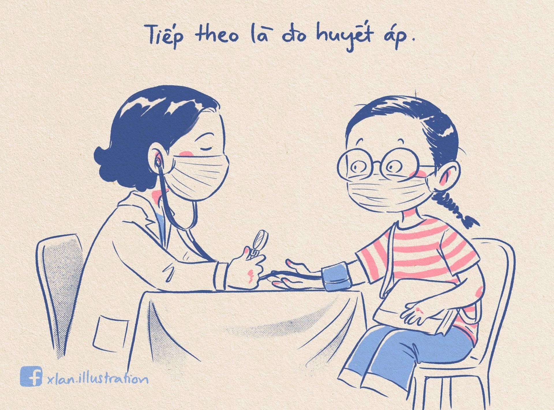 Nhật ký đi tiêm vắc xin ngộ nghĩnh của nữ hoạ sĩ trẻ, xem xong ai cũng muốn tiêm ngay - 8
