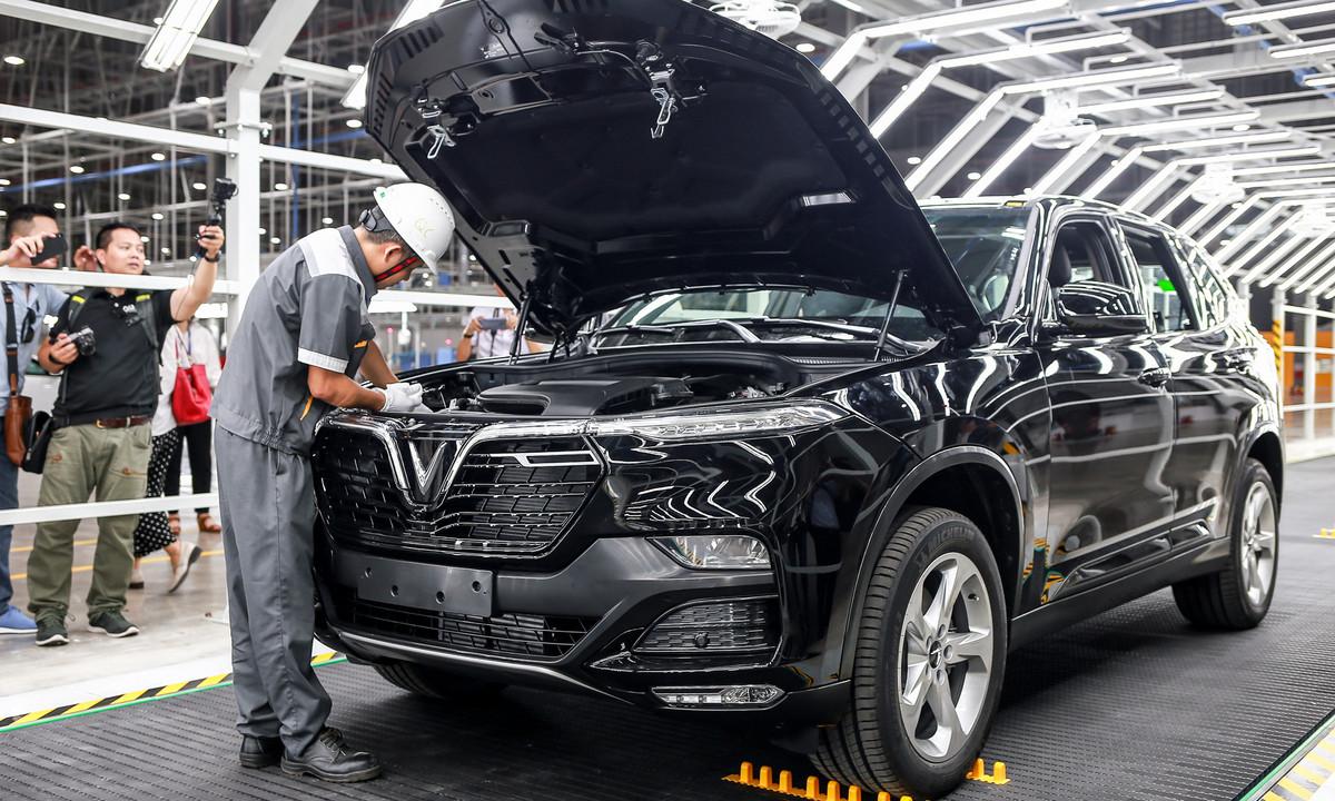 Sản xuất xe VinFast