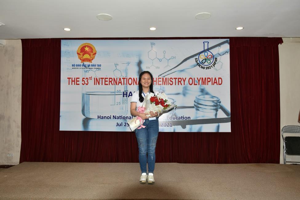 Nữ sinh duy nhất giành huy chương Vàng Olympic Hoá học quốc tế 2021 - 1