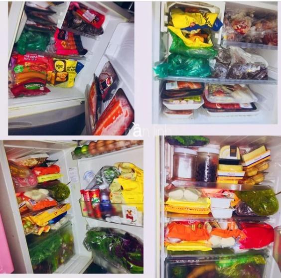 Chiếc tủ lạnh chuẩn đại gia mùa dịch: Giá gần 50 củ, đồ ăn chất như núi!-6