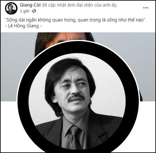 Giang Còi qua đời, Facebook cố nghệ sĩ xuất hiện status xót xa-2