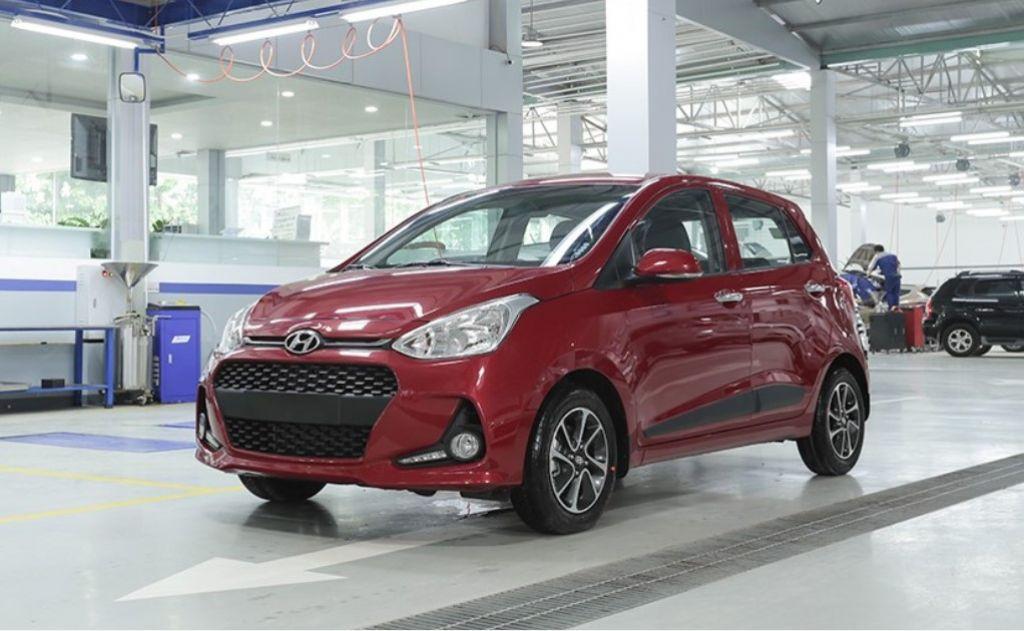 Hyundai i10 hiện đang bán tại Việt Nam