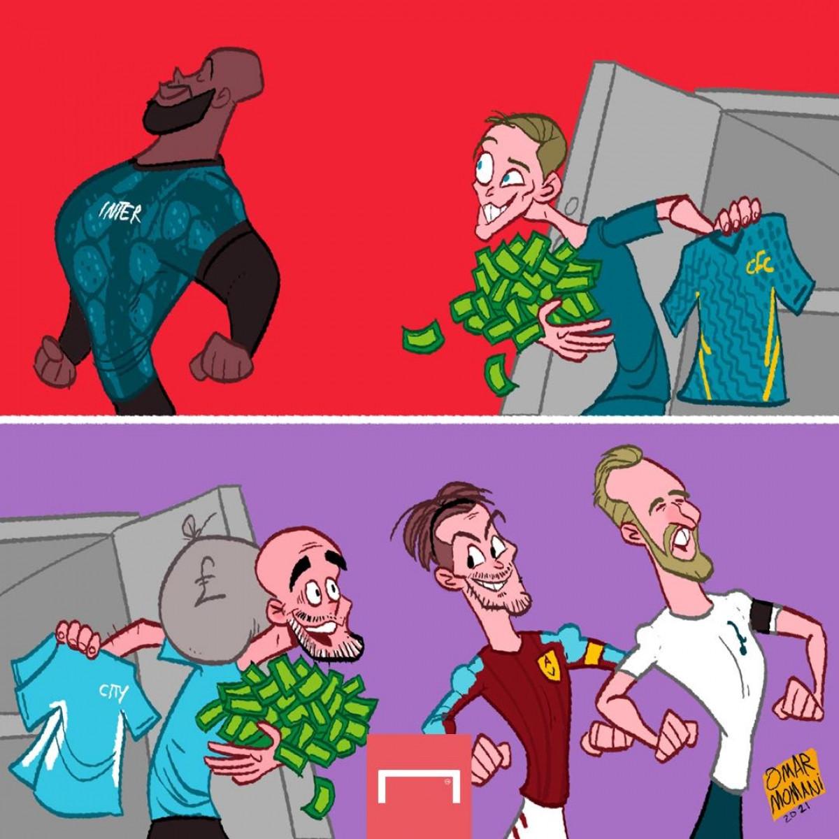Man City và Chelsea