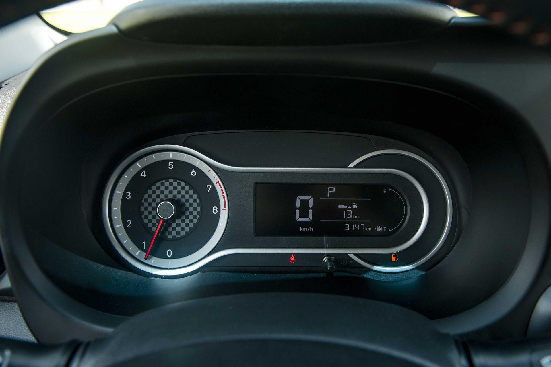 Đồng hồ hiển thị trên Hyundai Grand i10