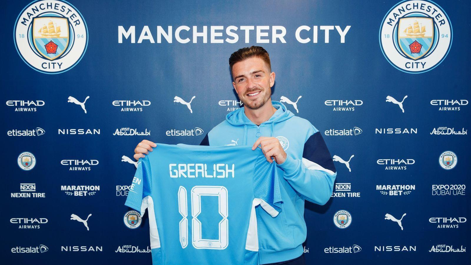 Mua Grealish, Man City phá kỷ lục chuyển nhượng Ngoại hạng Anh - 1