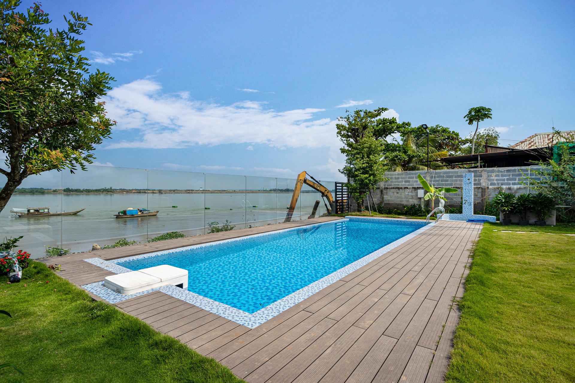 Xây nhà vườn có bể bơi né dịch, chàng trai tự thiết kế rẻ và đẹp lung linh - 16