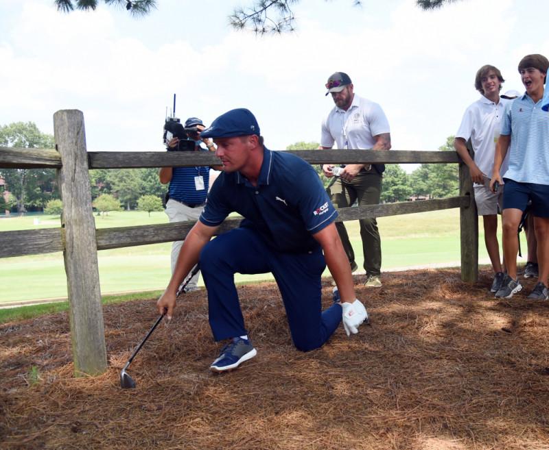Golfer Bryson DeChambeau