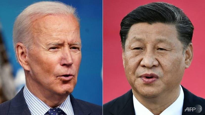 Tổng thống Joe Biden có thể đảo ngược tình thế trong cuộc đua gay cấn Mỹ-Trung xem 'nhà ai đông khách hơn?' (Nguồn: AFP)