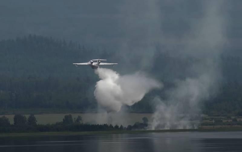 Hình ảnh máy bay cứu hỏa bị rơi tại Thổ Nhĩ Kỳ. (Nguồn: Top War)