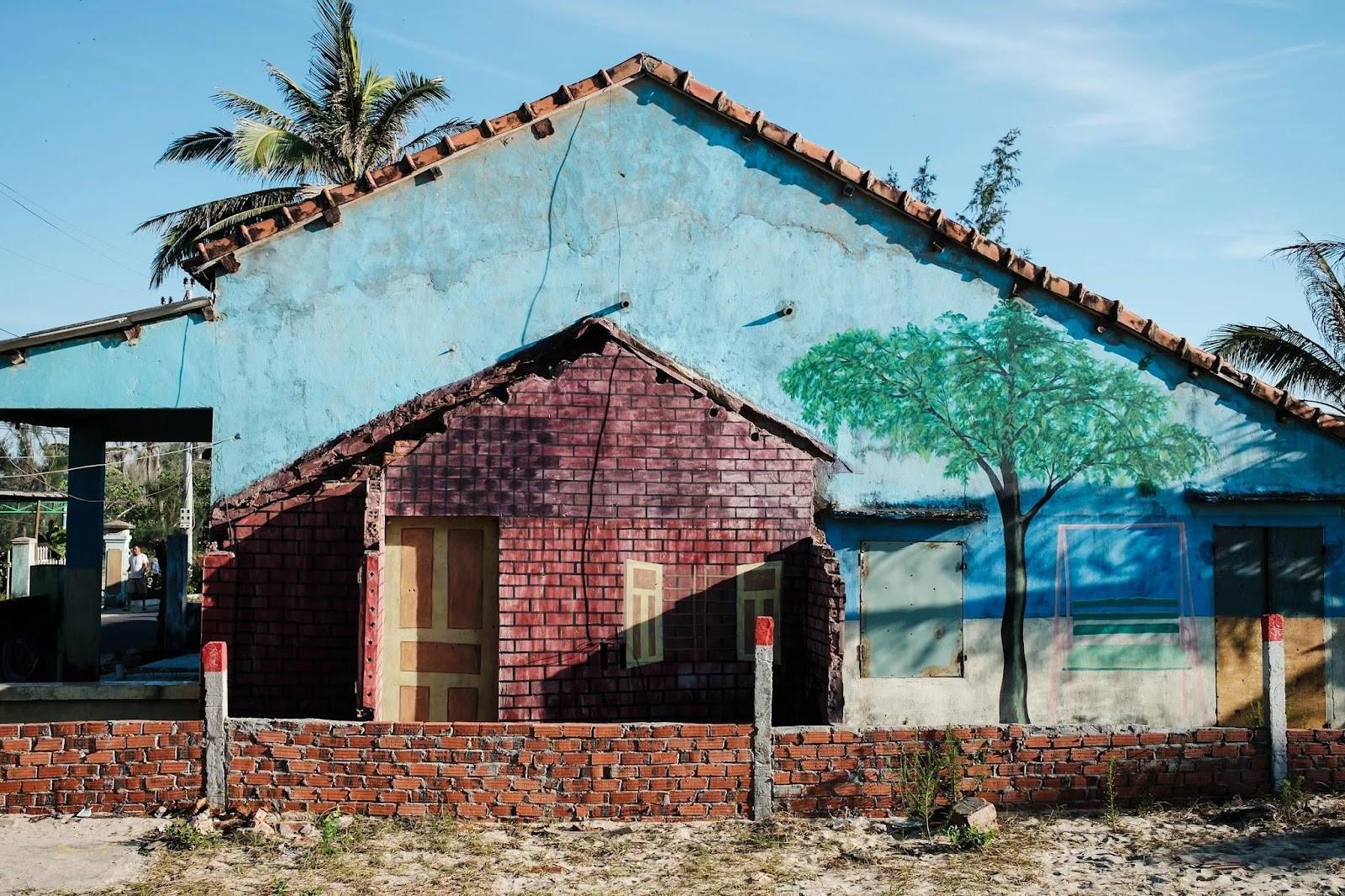 Nét yên bình làng bích họa Tam Thanh qua góc máy nhiếp ảnh gia người Pháp - 2
