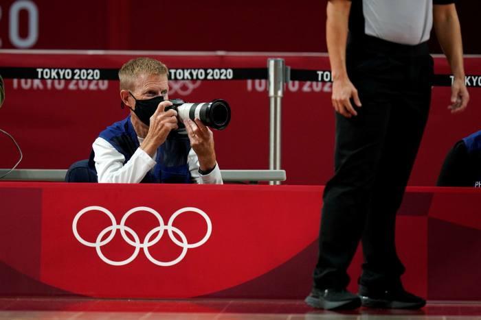 Nhiếp ảnh gia tại Olympic Tokyo: