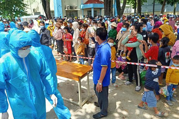 NÓNG: 400 người đi từ Đồng Nai về Ninh Thuận mắc Covid-19-2