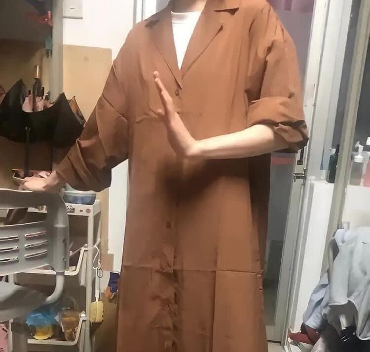 Đặt áo trench coat sành điệu, chủ thớt mặc lên hóa bần tăng-3