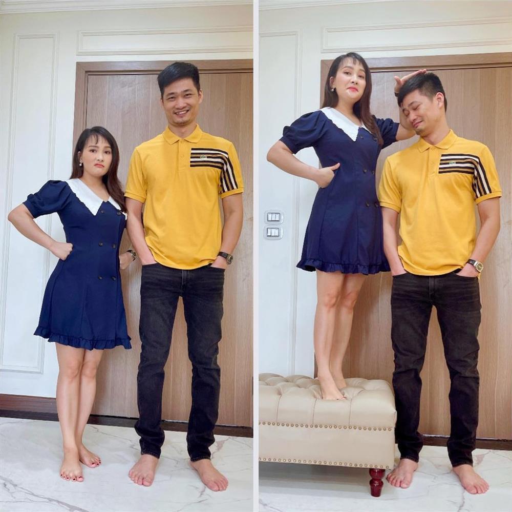 5 cặp đôi lệch chiều cao nhất Vbiz: Vợ chồng Lan Phương ẵm top 1-13
