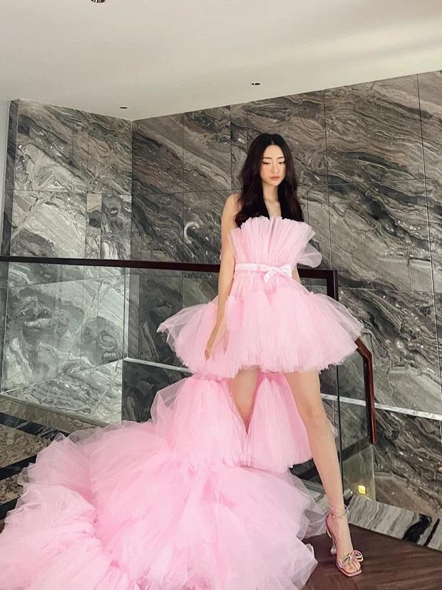 Lương Thùy Linh bị nghi mặc váy nhái Kendall Jenner-2