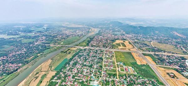 Nghệ An: Bất động sản thị xã Thái Hòa hút giới đầu tư