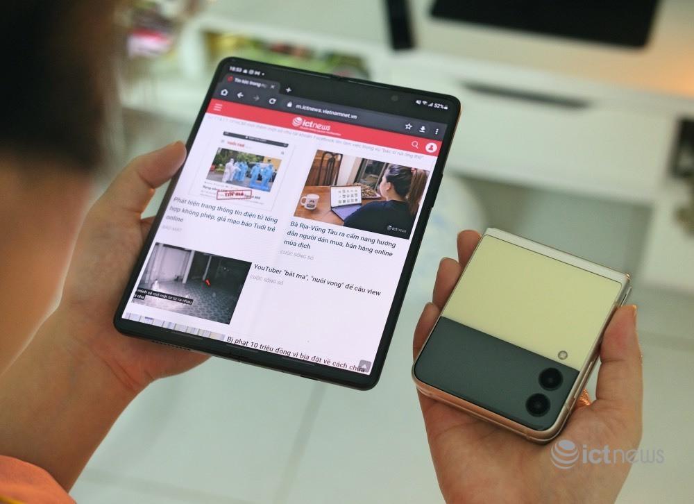 Giá chính thức Galaxy Z Fold3 5G tại Việt Nam từ 41,99 triệu đồng