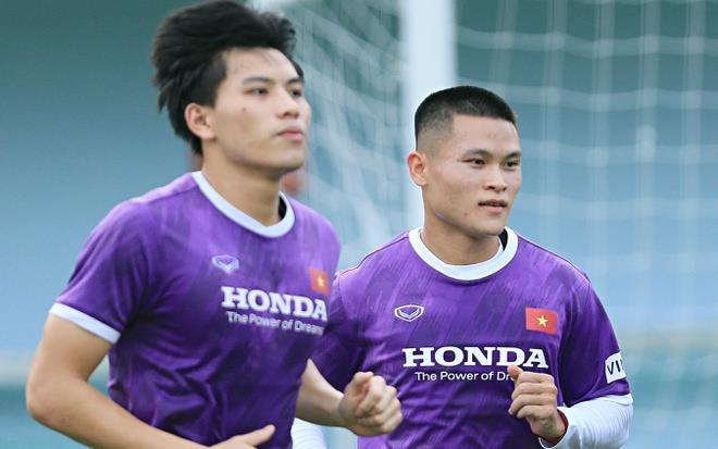 Tuyển Việt Nam ghi 4 bàn vào lưới đội U22 - 1