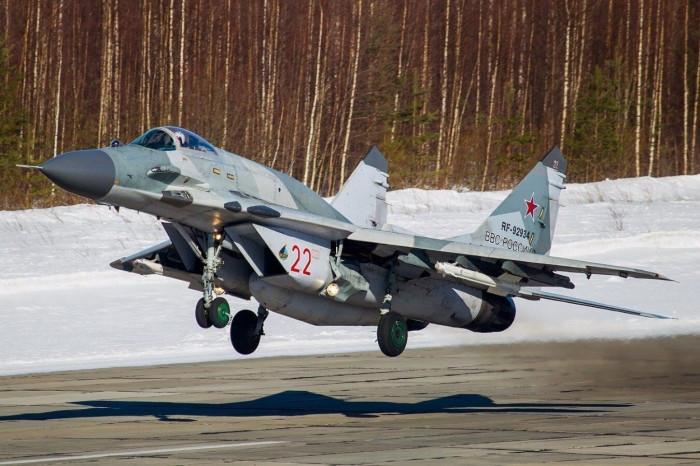 Tiêm kích MiG-29 Nga rơi khi đang huấn luyện, phi công tử nạn