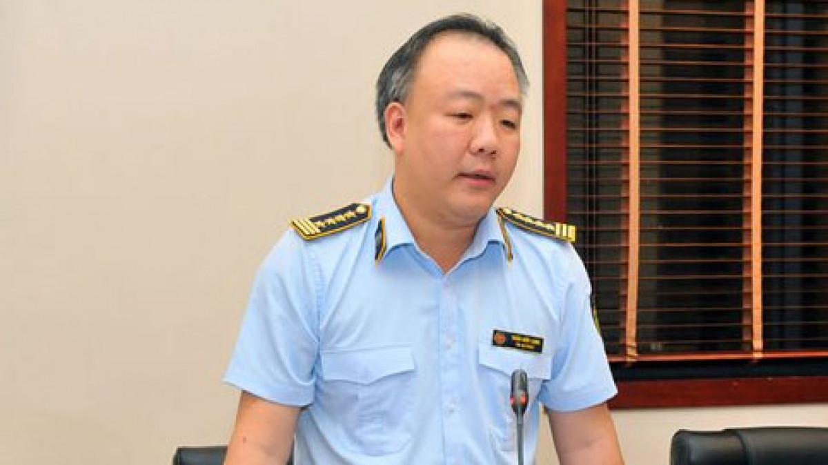 Ông Trần Hữu Linh, Tổng cục trưởng Tổng cục QLTT (Bộ Công Thương).