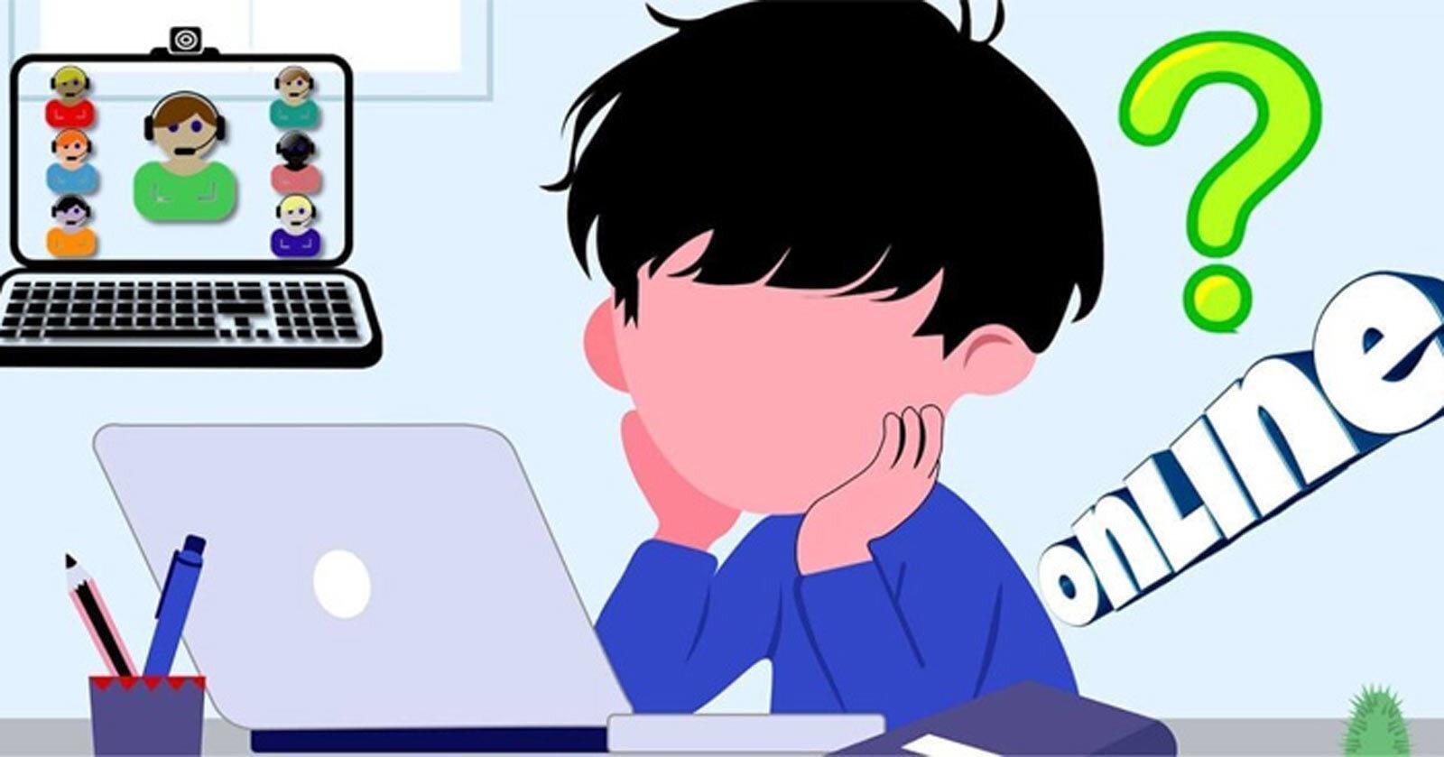 Con học online, tôi sợ bị cô giáo 'mắng' - 1