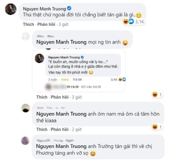Mạnh Trường cùng 1001 pha 'mặn mòi' với fan 'Hương vị tình thân' trên Facebook