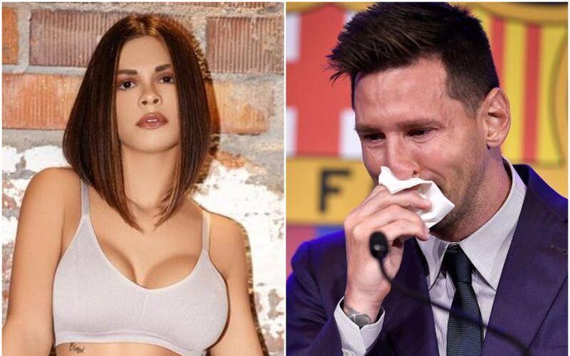 Siêu mẫu Playboy chi 600.000 USD mua… khăn lau mũi của Messi-1