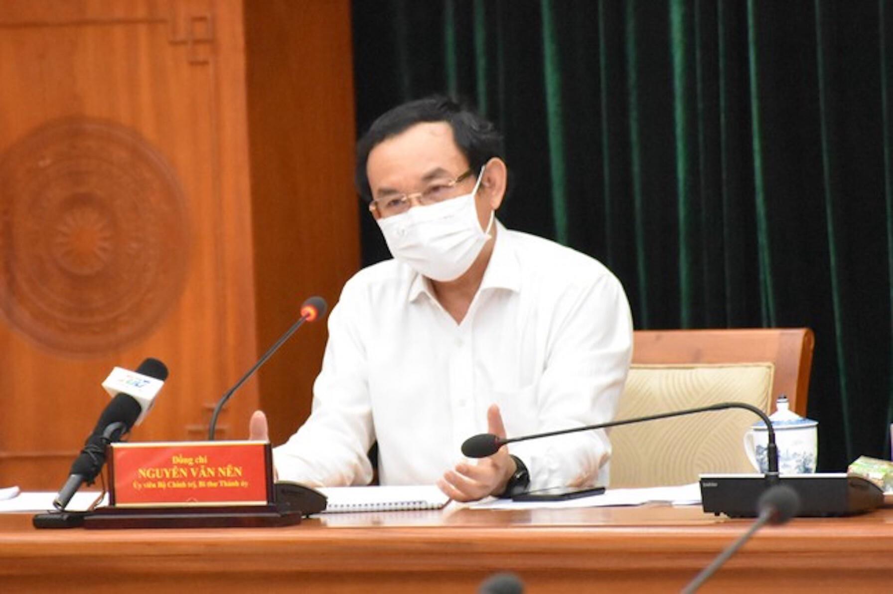 Ông Nguyễn Văn Nên: 'Đồng chí Tư Phong nói rất áy náy khi rời TP vào lúc này' - 2