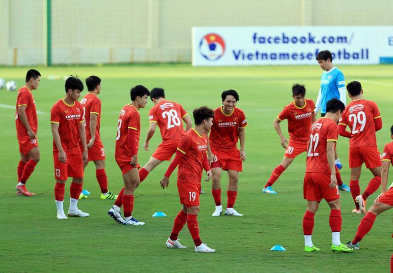Tuyển Việt Nam đấu U22 Việt Nam trước ngày dự vòng loại 3 World Cup 2022 - 2