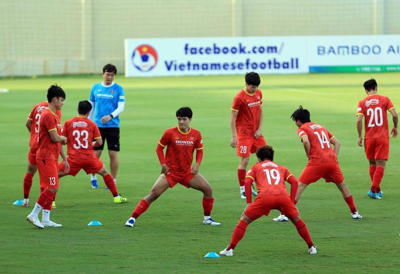 Tuyển Việt Nam đấu U22 Việt Nam trước ngày dự vòng loại 3 World Cup 2022 - 4