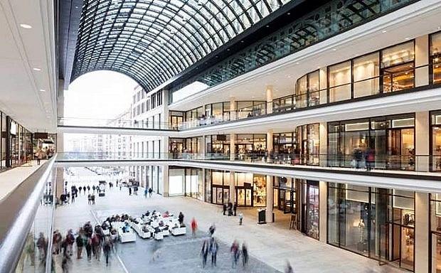 Bất động sản mới nhất, trung tâm thương mại. (Nguồn: Savill)