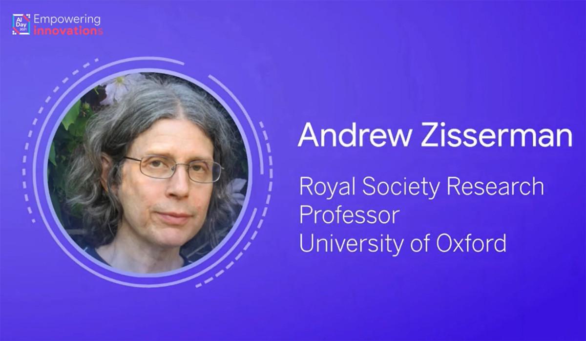 Giáo sư Hiệp hội Hoàng gia Anh - Andrew Zisserman (khoa Khoa học Kỹ Thuật, đại học Oxford)