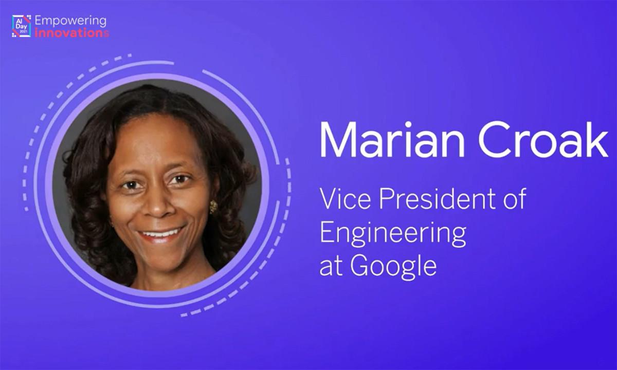 Tiến sĩ Marian Croak (Phó Chủ tịch Kỹ thuật Google)