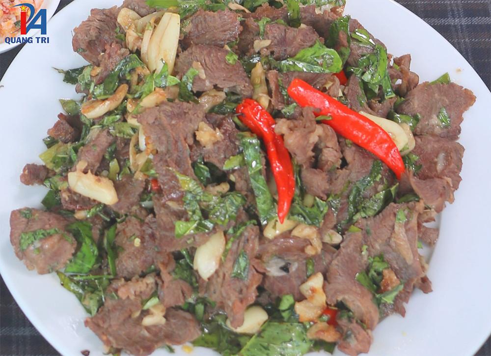 """Thịt trâu lá trơng – Top """"20 món ăn Việt Nam mới lạ"""" ở Quảng Trị - 5"""