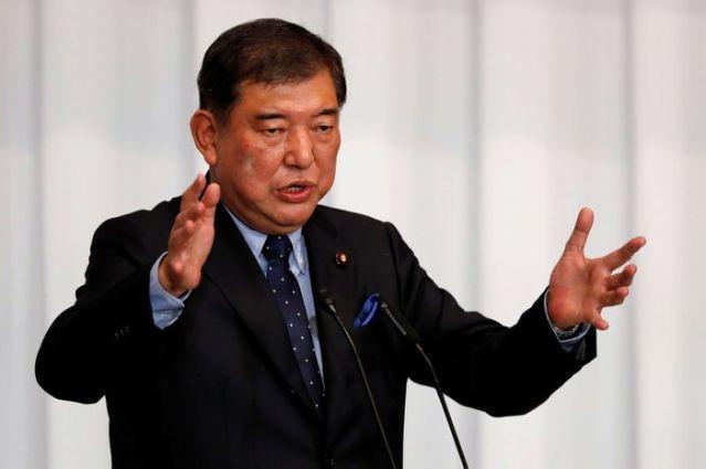 Cựu Bộ trưởng Quốc phòng Nhật Bản Shigeru Ishiba. (Nguồn: Reuters).