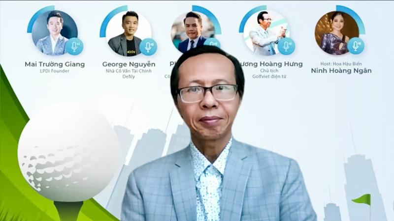 Ông Lương Hoàng Hưng - Chủ tịch Golf Việt điện tử