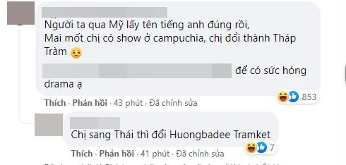 Hương Tràm đổi tên Facebook liền bị đặt nghệ danh hiểu chết liền-3