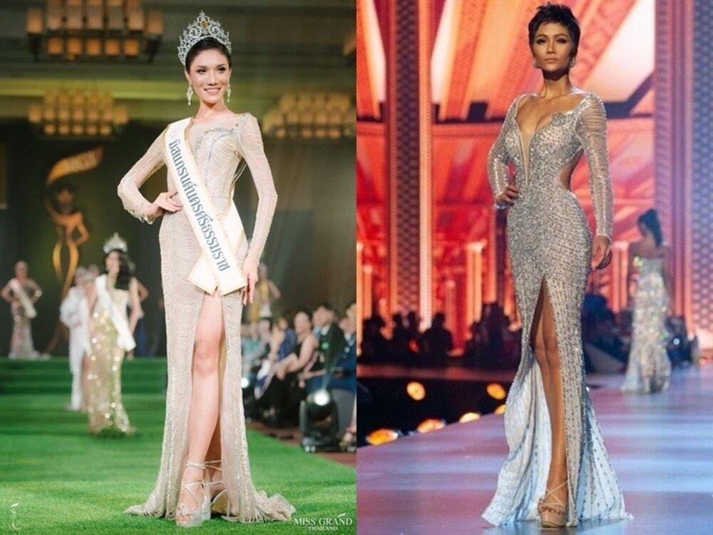 Hoa hậu - Á hậu Việt là nạn nhân trong nghi án đạo nhái trang phục?-8