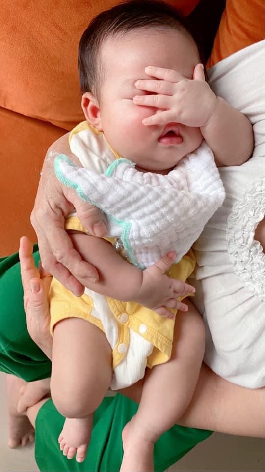 Phản ứng của Lệ Quyên khi đồng nghiệp giục sinh con-1